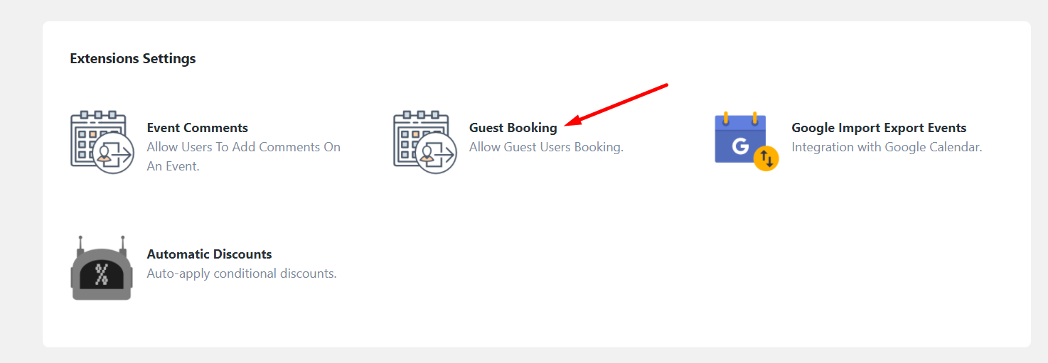 EventPrime Guest Booking