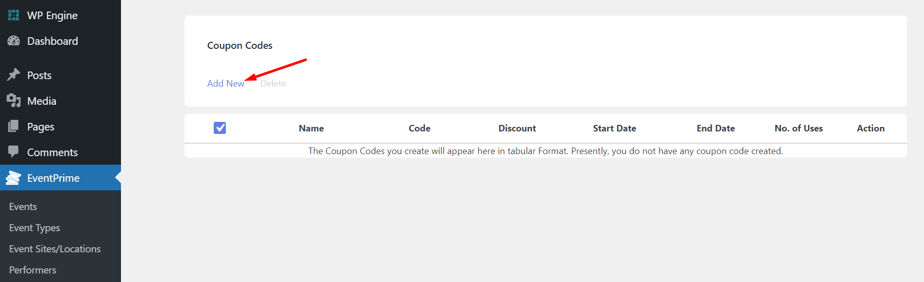 create coupon codes