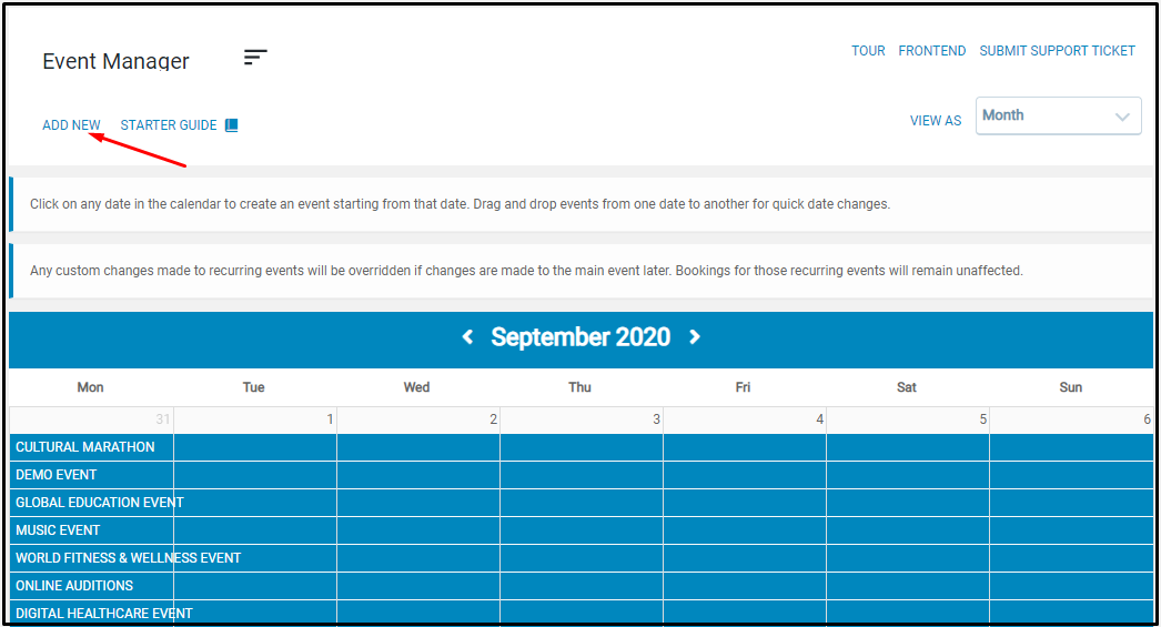 Publish user group specific events: EventPrime Event Manager