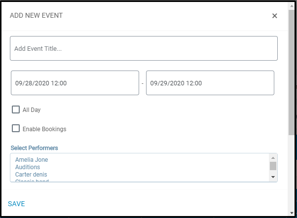 Publish user group specific events: EventPrime Add New Event