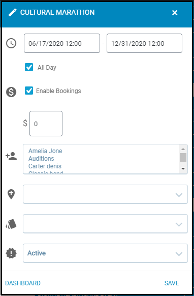 Publish user group specific events: EventPrime Event Settings