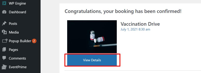 custom attendee booking