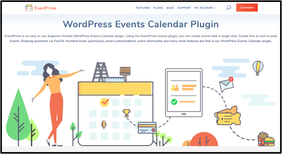 WordPress Event Management Plugin