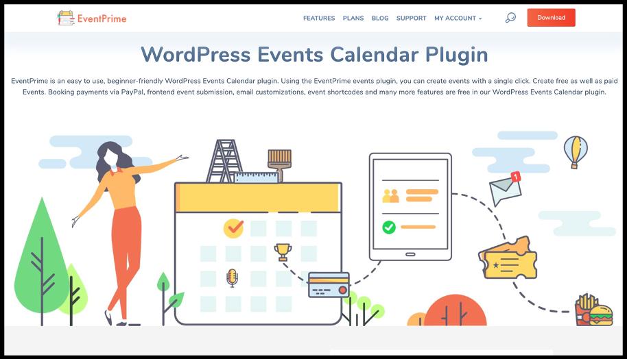 WordPress Events Plugin