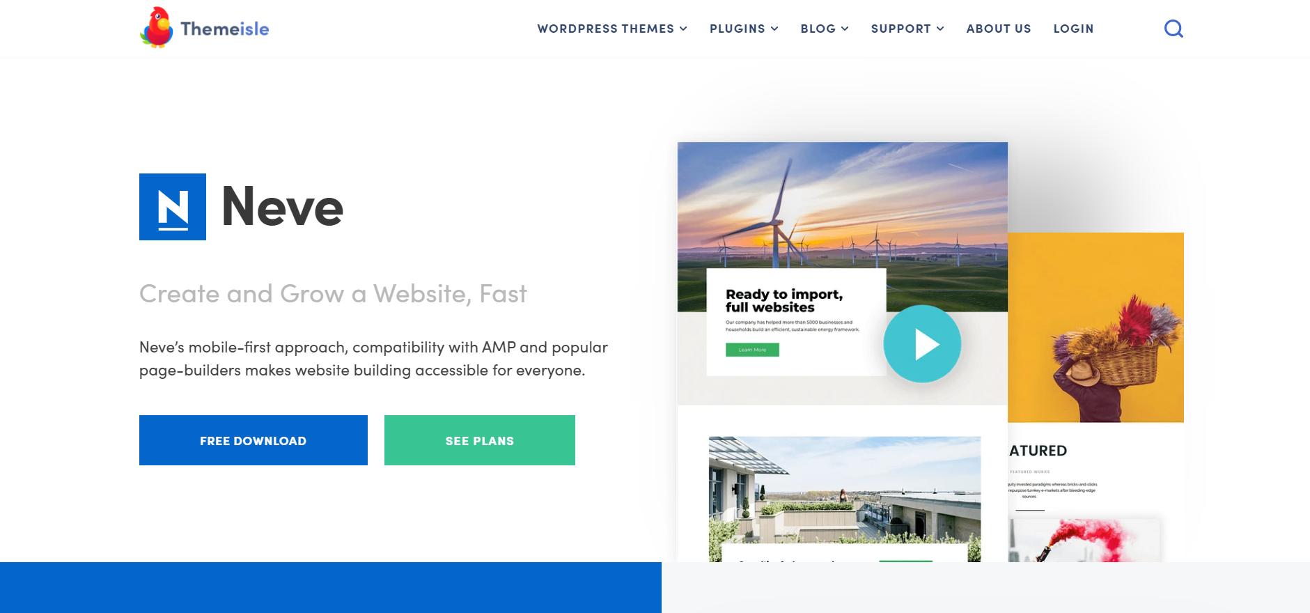 Neve WordPress themes