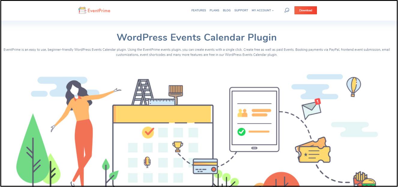 events website