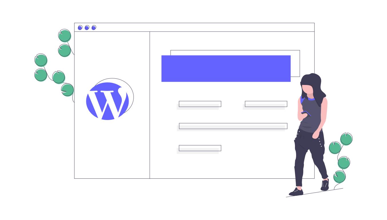 WordPress event management website