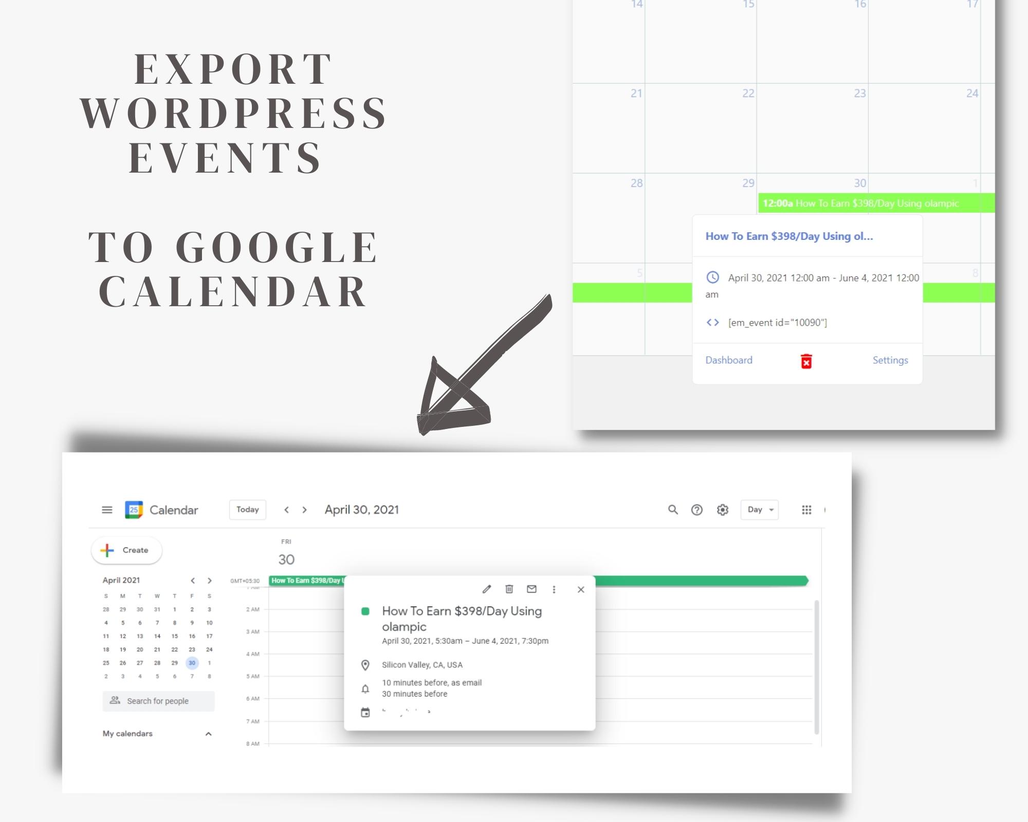 export events
